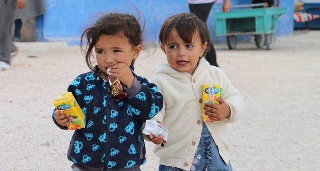 Fleeing Syrian Arabs, ...