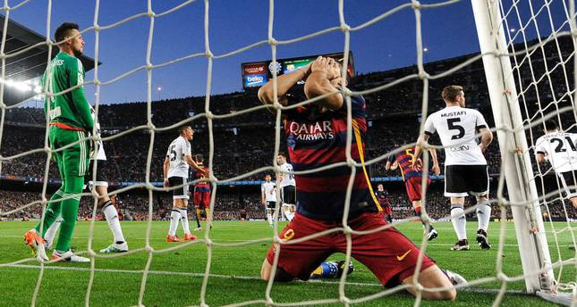 Barca's margin for error runs out after losing run