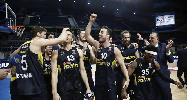 Fenerbahçe reach Euroleague Final Four after beating Real Madrid