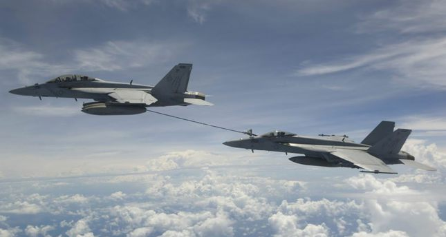 The Pentagon and the State Department have both signed off on the sale of some 36 F-15 fighter jets to Qatar and 24 F/A-18E/F Super Hornets (left) to Kuwait, both built by Boeing.