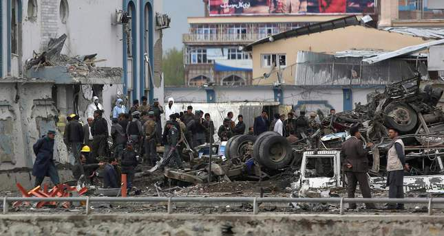 Dozens killed in Taliban attack on Afghan security agency