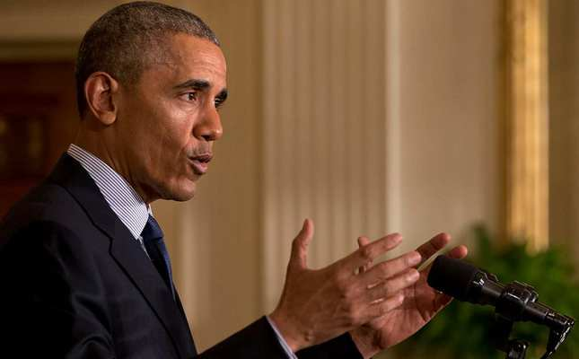 In this April 13, 2016 file photo, President Barack Obama speaks in the East Room of the White House in Washington AP Photo