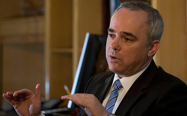 Israeli Minister of National Infrastructures, Yuval Steinitz (Reuters Photo)
