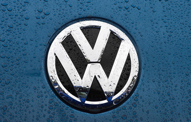 This file photo taken on October 1, 2015 shows the VW emblem on a Volkswagen at a dealership in Gaithersburg, Maryland. (AFP Photo)