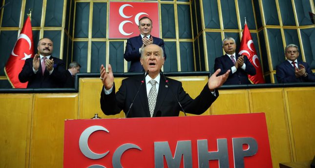 Survey: 55 percent of MHP voters behind Bahçeli in face of opposition