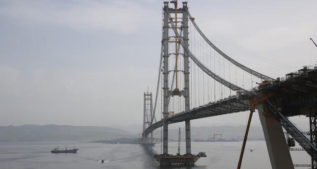 Last deck of İzmit Bay Bridge to be installed
