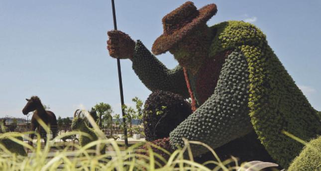 World garden opens its gates in EXPO 2016 Antalya
