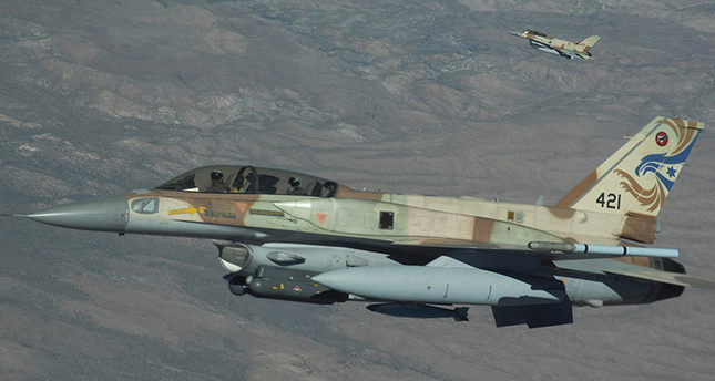 A 2-ship of Israeli Air Force F-16s from Ramon Air Base, Israel head out to the Nevada Test and Training Range, July 17, 2009 during Red Flag 09-4 (US Air Force Photo)