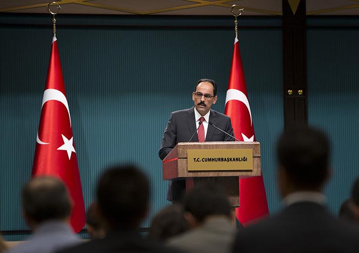 Presidential Spokesperson u0130brahim Kalu0131n (AA Photo)