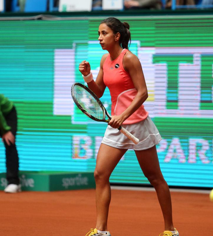 u00c7au011fla Bu00fcyu00fckaku00e7ay won the local TEB BNP Paribas Istanbul Cup title, enabling her to climb 36 places in the WTA standings.