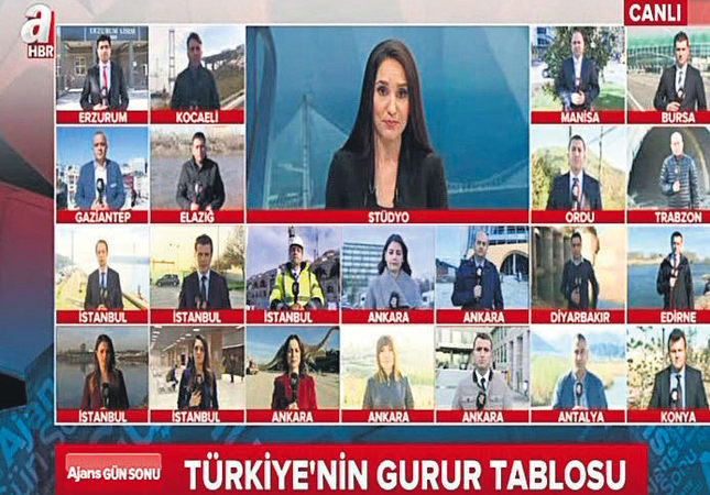 Top news network A Haber TV marks fifth year on air