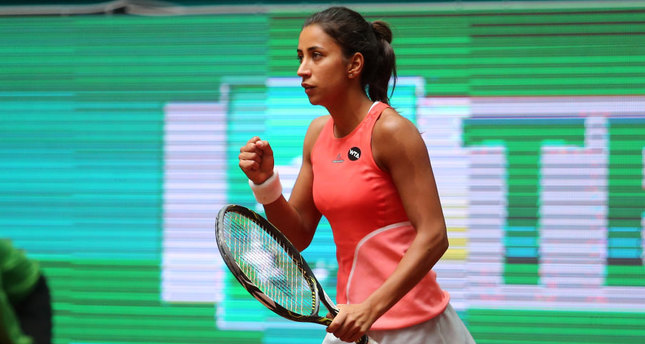 Çağla Büyükakçay won the local TEB BNP Paribas Istanbul Cup title, enabling her to climb 36 places in the WTA standings.