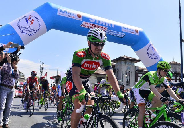Lopez wins 2nd stage of Turkey Cycling Tour