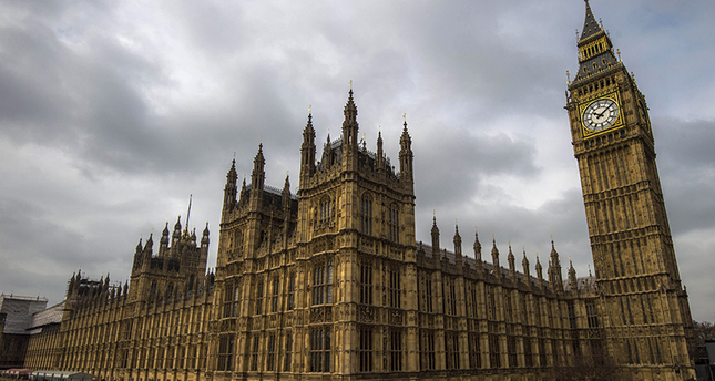 General view of the Palace of Westminster, with the great Westminster clock, more commonly known as Big Ben seen on April 5, 2015. (FILE Photo)