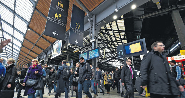 Strikes disrupt rail service in France, flights in Germany
