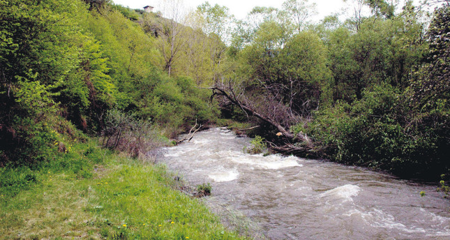 The river constitutes the Turkish-Georgian border. (DHA Photo)