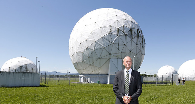 President of the German Federal Intelligence Agency (BND) Gerhard Schindler stands at the former monitoring base of the National Security Agency (NSA) in Bad Aibling (Reuters Photo)