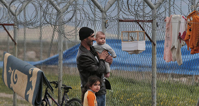 This is a Wednesday, March 16, 2016 file photo of Syrian refugee Abdullah Koca, 43, who fled Syria four-years ago and had been living at a refugee camp for Syrian refugees in Islahiye, Gaziantep province, southeastern Turkey (AP Photo)