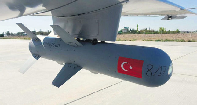 Domestic drone 'Bayraktar' fires its first smart ammo with warhead