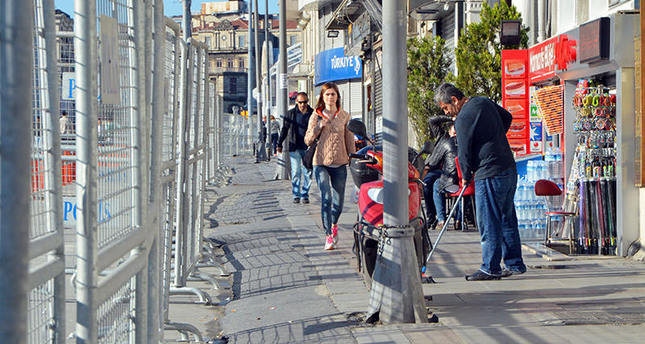 Taksim Square off-limits on Labor Day, roads to be closed
