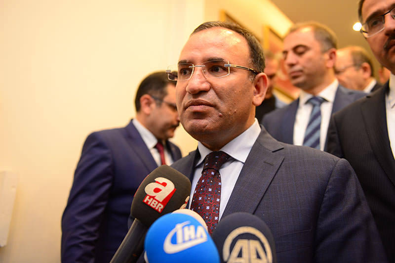 Justice Minister Bekir Bozdau011f (AA photo)