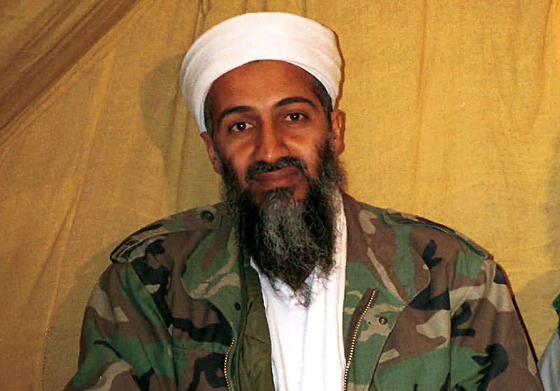 This undated file photo shows al Qaida leader Osama bin Laden in Afghanistan. (AP)