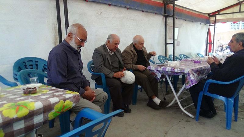 Bezek's family members in Iu011fdu0131r province IHA Photo