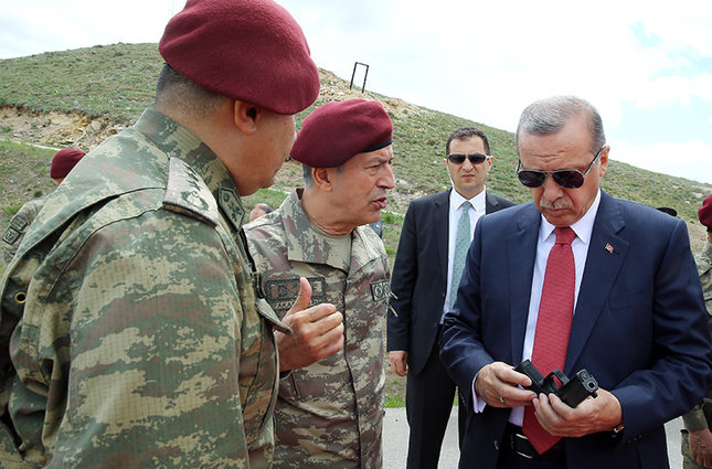 Erdoğan pays surprise visit to Turkey's Special Task ...
