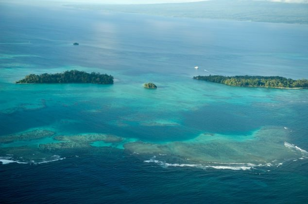 At least 11 islands across the northern Solomon Islands have either totally disappeared over recent decades or are currently experiencing severe erosion. (AFP Photo)