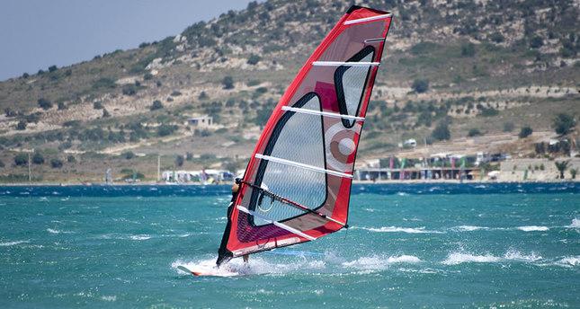 Windsurfing in Alaçatı