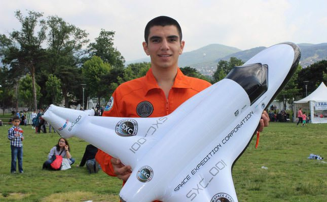 Space Engineering Student To Be First Turk In Space Daily Sabah
