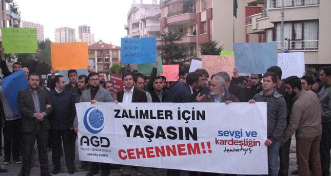 Turks protest Bangladesh's execution of Jamaat-e-Islami party leader Nizami