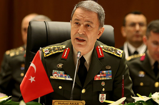 Chief of Staff Hulusi Akar AA Photo