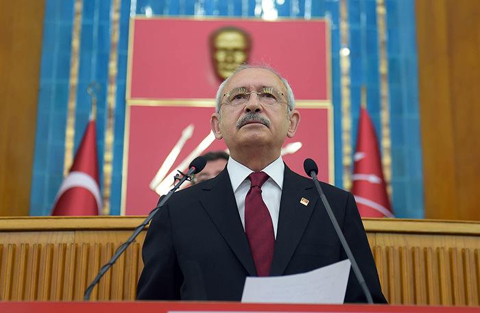 CHP leader Kemal Ku0131lu0131u00e7darou011flu (DHA Photo)