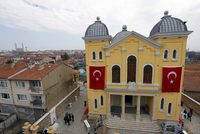 The Grand Edirne Synagogue (above) in northwestern Turkey will hold its first wedding ceremony in more than four decades later this month. It is expected to be a heartfelt moment for Rufat Mitrani,...