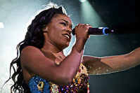 In this May 11, 2015 file photo, Azealia Banks performs in concert at Irving Plaza in New York. Banks, like Donald Trump, is outspoken and often criticized for her opinions (AP Photo)