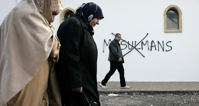 French Muslims suffer from increasing Islamophobia across the country (FILE Photo)