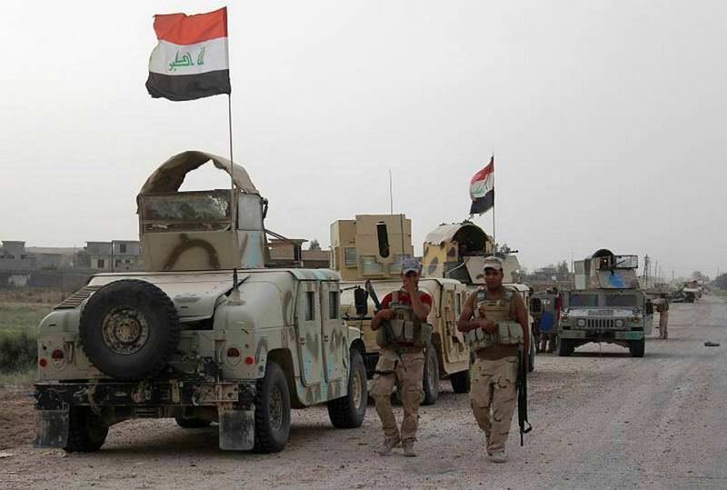 Iraqi forces take part in a new operation against DAESH to retake Anbar.