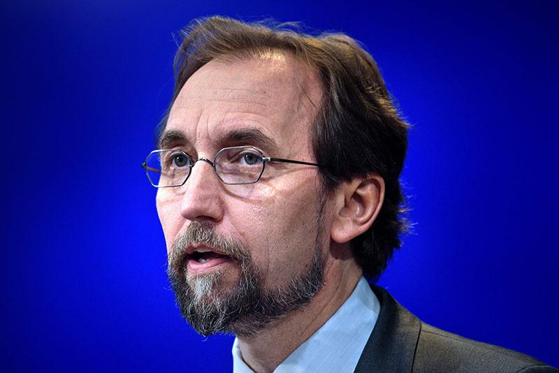 Zeid Ra'ad Al Hussein (AFP photo)