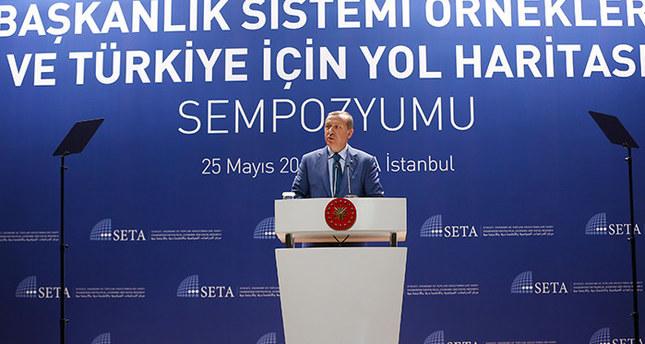 أردوغان يشدد على أهمية التحول الى النظام الرئاسي