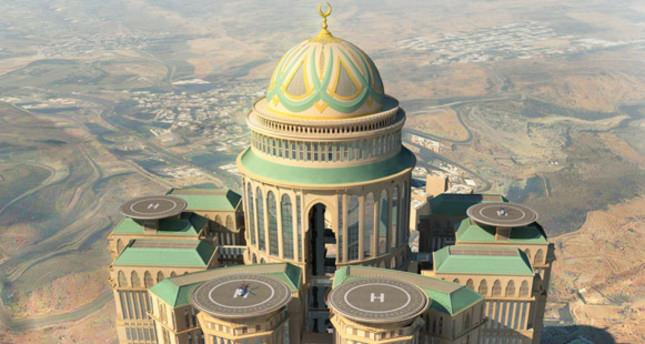 السعودية تبني أكبر فندق في العالم في مكة