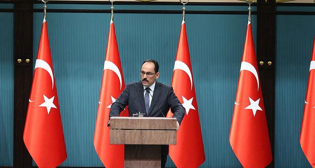 المتحدث باسم الرئاسة التركية: اعتداء اسرائيل على المسجد الأقصى لعب بالنار