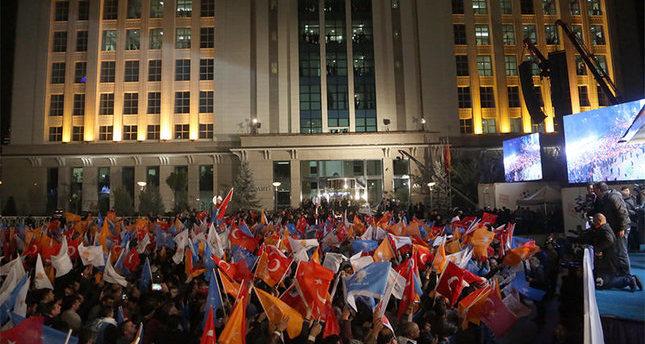 حزب العدالة والتنمية التركي ينتزع 59 مقعدا من مقاعد المعارضة