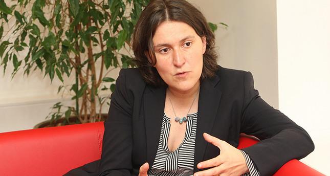 المسؤولة الخاصة بالشأن التركي في البرلمان الاوروبي، كاتي بيري.