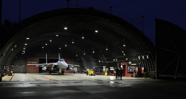 الولايات المتحدة ترسل 6 مقاتلات إف 15 إلى قاعدة إنجرليك التركية