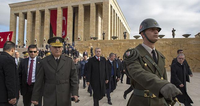 تركيا تحيي الذكرى الـ 77 لوفاة مؤسس الجمهورية مصطفى كمال أتاتورك