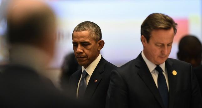 قادة مجموعة العشرين يقفون دقيقة صمت حدادا على ضحايا هجمات باريس وأنقرة