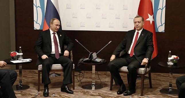 أردوغان وبوتين يتفقان على عقد مجلس تعاون مشترك بين البلدين الشهر القادم