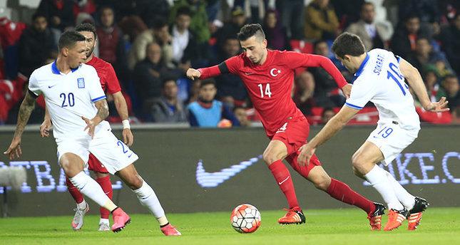 المنتخب التركي يتعادل مع نظيره اليوناني ودياً بدون أهداف