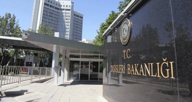 الخارجية التركية تدين بناء إسرائيل مستوطنات جديدة في القدس